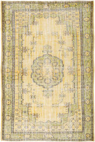 Colored Vintage Rug 193X288 Authentic  Modern Handknotted Light Brown/Beige/Yellow (Wool, Turkey)