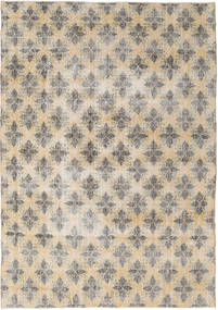 Colored Vintage Rug 211X305 Authentic  Modern Handknotted Light Grey/Beige (Wool, Turkey)