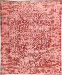 Colored Vintage Dywan 295X356 Nowoczesny Tkany Ręcznie Jasnoróżowy/Ciemnoczerwony Duży (Wełna, Persja/Iran)