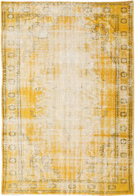 Colored Vintage Rug 179X263 Authentic  Modern Handknotted Beige/Dark Beige (Wool, Turkey)