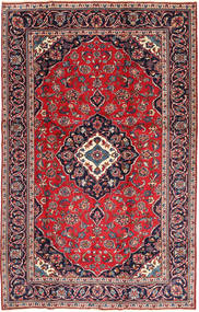 Keshan Patina Rug 188X295 Authentic  Oriental Handknotted Dark Purple/Crimson Red (Wool, Persia/Iran)