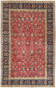 Mashad Patina Rug 198X323 Authentic  Oriental Handknotted Dark Red/Black (Wool, Persia/Iran)