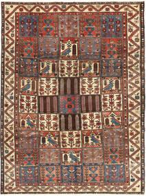Bakhtiar Patina Tæppe 205X282 Ægte Orientalsk Håndknyttet Mørkegrå/Brun (Uld, Persien/Iran)