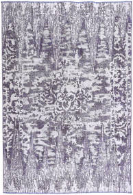 Colored Vintage Rug 188X275 Authentic  Modern Handknotted Light Purple/Dark Grey (Wool, Persia/Iran)