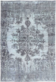 Colored Vintage Rug 237X345 Authentic  Modern Handknotted Light Grey/Dark Grey (Wool, Persia/Iran)