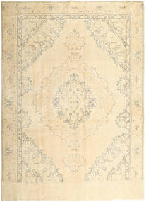 Colored Vintage Alfombra 277X377 Moderna Hecha A Mano Beige/Beige Oscuro Grande (Lana, Persia/Irán)