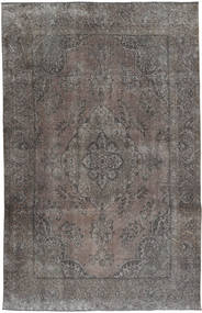 Vintage Rug 198X305 Authentic  Modern Handknotted Dark Grey/Light Grey (Wool, Persia/Iran)