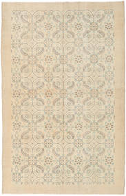 Colored Vintage Teppe 167X260 Ekte Moderne Håndknyttet Mørk Beige/Beige/Lysbrun (Ull, Tyrkia)