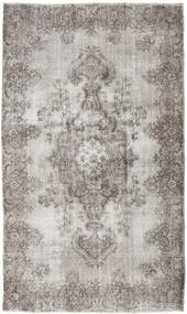 Colored Vintage Rug 172X300 Authentic  Modern Handknotted Light Grey/Dark Grey (Wool, Turkey)