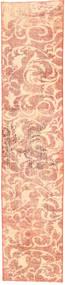 Colored Vintage Matto 65X357 Moderni Käsinsolmittu Käytävämatto Vaaleanpunainen/Tummanbeige (Villa, Persia/Iran)