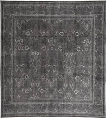 Colored Vintage Szőnyeg 303X335 Modern Csomózású Sötétszürke/Sötétbarna Nagy (Gyapjú, Perzsia/Irán)