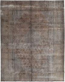 カラード ヴィンテージ 絨毯 300X372 モダン 手織り 濃い茶色/薄い灰色/濃いグレー 大きな (ウール, ペルシャ/イラン)
