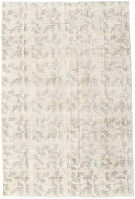Colored Vintage Rug 182X277 Authentic  Modern Handknotted Light Grey/Beige (Wool, Turkey)