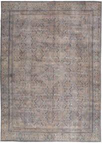 Vintage Rug 268X380 Authentic  Modern Handknotted Light Grey/Dark Grey Large (Wool, Persia/Iran)