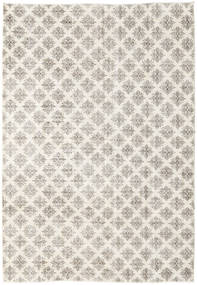 Colored Vintage Rug 215X308 Authentic  Modern Handknotted Light Grey/Beige (Wool, Turkey)