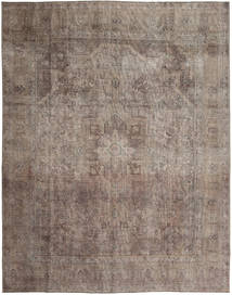 Vintage Rug 291X370 Authentic  Modern Handknotted Light Brown/Brown Large (Wool, Persia/Iran)