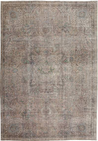 Colored Vintage Rug 243X344 Authentic  Modern Handknotted Light Grey/Dark Grey (Wool, Persia/Iran)