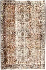 Colored Vintage Rug 183X285 Authentic  Modern Handknotted Light Brown/Light Grey/Brown (Wool, Persia/Iran)