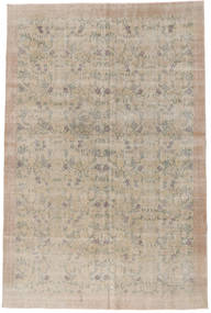 Colored Vintage Rug 196X300 Authentic  Modern Handknotted Light Brown (Wool, Turkey)