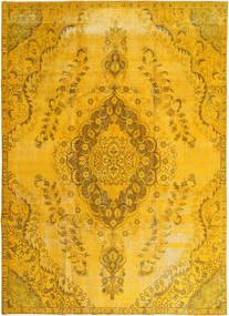 Colored Vintage Tapis 241X327 Moderne Fait Main Jaune/Orange (Laine, Perse/Iran)
