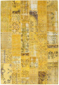 Patchwork Rug 203X299 Authentic  Modern Handknotted Yellow (Wool, Turkey)