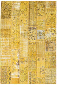Patchwork Rug 202X300 Authentic  Modern Handknotted Yellow (Wool, Turkey)
