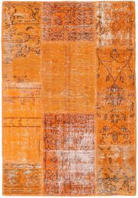 Patchwork Rug 102X149 Authentic  Modern Handknotted Orange/Light Brown (Wool, Turkey)