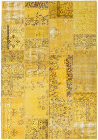 Patchwork Rug 162X233 Authentic  Modern Handknotted Yellow (Wool, Turkey)