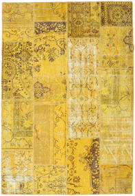 Patchwork Rug 161X235 Authentic  Modern Handknotted Yellow (Wool, Turkey)