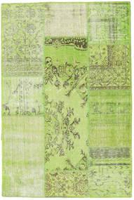 Patchwork Χαλι 120X181 Σύγχρονα Χειροποιητο Ανοιχτό Πράσινο (Μαλλί, Τουρκικά)