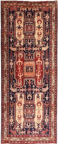 アルデビル 絨毯 124X310 オリエンタル 手織り 廊下 カーペット 茶/深紅色の (ウール, ペルシャ/イラン)