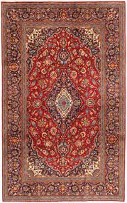 Keshan Matto 200X318 Itämainen Käsinsolmittu Tummanpunainen/Tummanvioletti (Villa, Persia/Iran)
