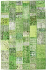 パッチワーク 絨毯 199X302 モダン 手織り ライトグリーン/パステルグリーン (ウール, トルコ)