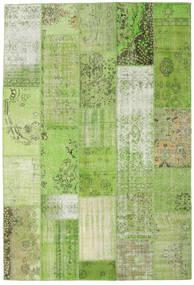 Patchwork Tapis 201X299 Moderne Fait Main Vert Clair/Vert (Laine, Turquie)