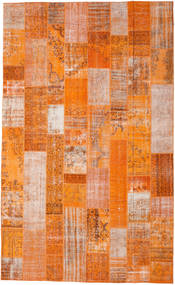 Patchwork Rug 305X498 Authentic  Modern Handknotted Orange/Light Brown Large (Wool, Turkey)