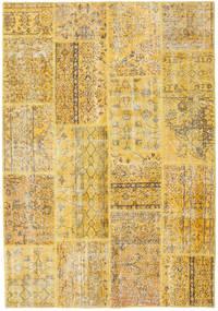 Patchwork Rug 160X231 Authentic  Modern Handknotted Dark Beige/Light Brown (Wool, Turkey)