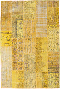 Patchwork Rug 201X300 Authentic  Modern Handknotted Yellow (Wool, Turkey)