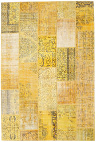Patchwork Rug 203X303 Authentic  Modern Handknotted Yellow/Light Brown (Wool, Turkey)