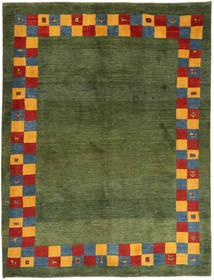 Gabbeh Persia Matto 188X245 Moderni Käsinsolmittu Tummanvihreä/Oliivinvihreä (Villa, Persia/Iran)