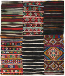 キリム パッチワーク 絨毯 BHKZS157