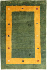 Gabbeh Persia Rug 204X302 Authentic  Modern Handknotted Dark Green/Olive Green (Wool, Persia/Iran)