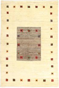 Gabbeh Persisk Matta 197X287 Äkta Modern Handknuten Beige/Ljusbrun (Ull, Persien/Iran)