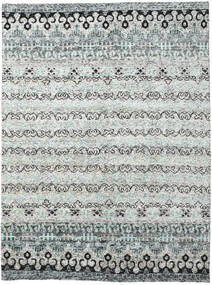 Quito - Grey Rug 280X380 Authentic  Modern Handknotted Light Grey/Beige Large (Silk, India)