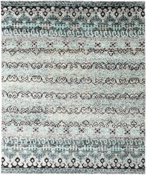 Quito - Grey Rug 240X290 Authentic  Modern Handknotted Light Grey/Beige (Silk, India)