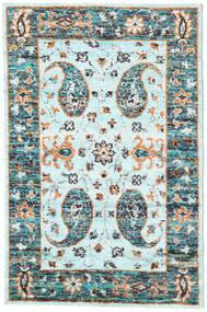 Tapis Vega Sari soie - L.Blue CVD18959