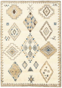 Berber Indo - Off White/Beige Rug 140X200 Authentic  Modern Handknotted Beige/Dark Beige (Wool, India)