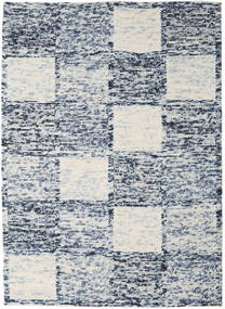 Box Drop - Mixed Grey Rug 210X290 Authentic  Modern Handwoven Light Grey/Blue (Wool, India)