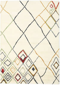 Berber Indo - Off-White/Multi Rug 210X290 Authentic  Modern Handknotted Beige/White/Creme (Wool, India)
