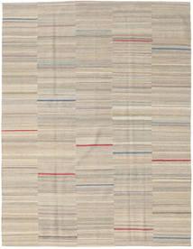 Kilim Moderne Tapis 186X239 Moderne Fait Main Marron Clair (Laine, Perse/Iran)