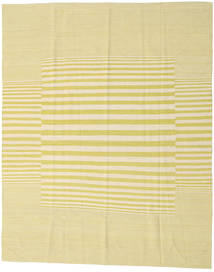 Kilim Modern Rug 182X227 Authentic  Modern Handknotted Beige/Yellow (Wool, India)